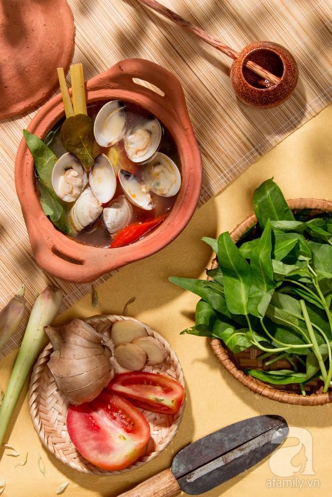 Đưa cơm cực kỳ với món canh ngao nấu chua theo cách này - Ảnh 9.