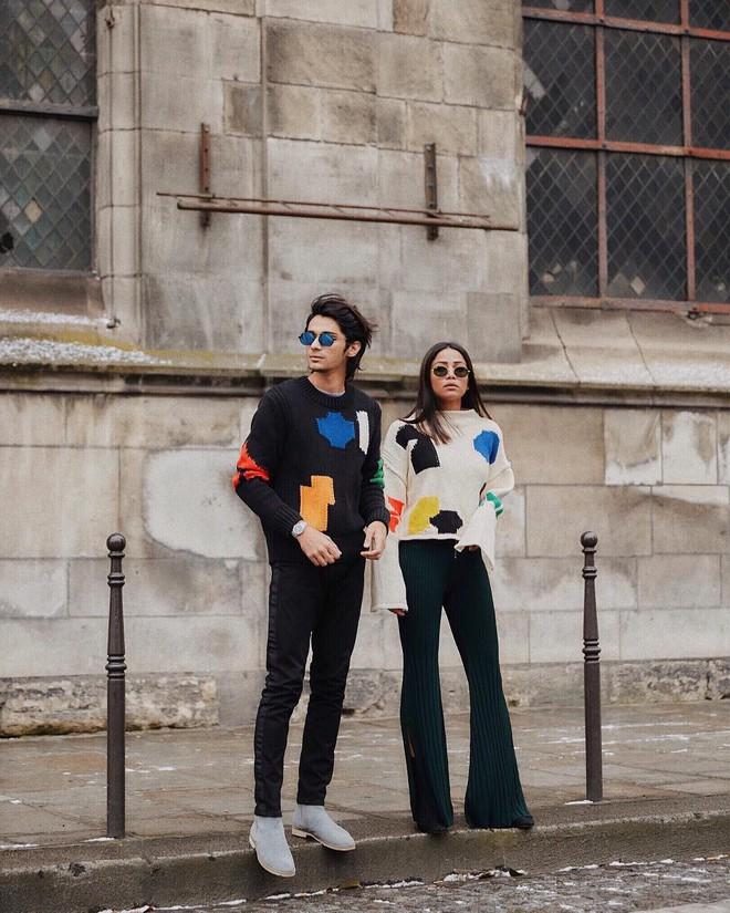 Vừa lên kệ, họa tiết mảng màu của H&M Studio đã được chưng diện toàn cầu, cánh fashionista Việt nào có kém cạnh - Ảnh 11.