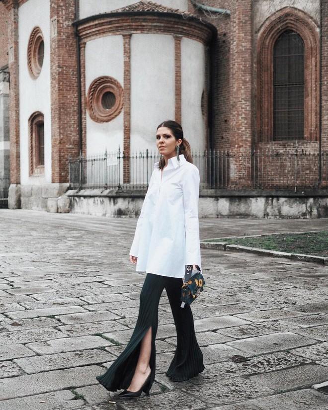 Vừa lên kệ, họa tiết mảng màu của H&M Studio đã được chưng diện toàn cầu, cánh fashionista Việt nào có kém cạnh - Ảnh 14.
