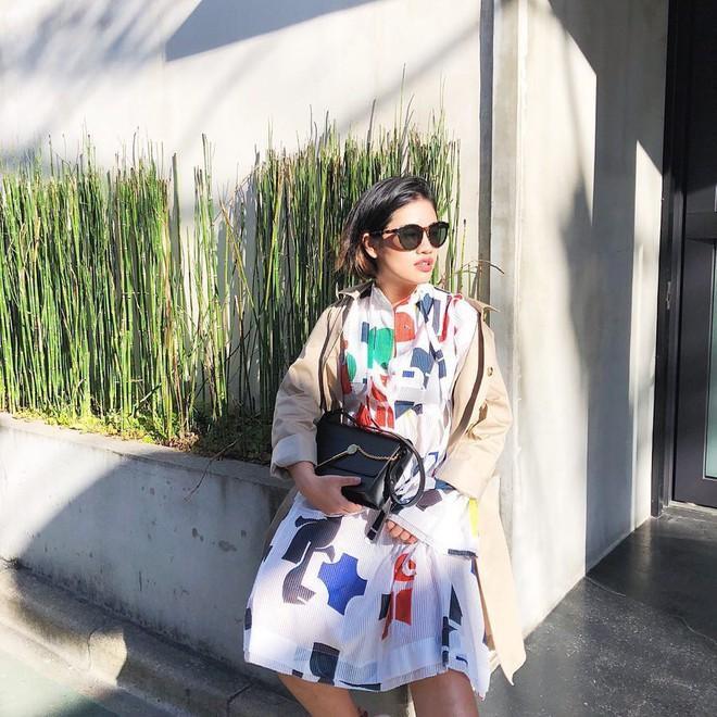 Vừa lên kệ, họa tiết mảng màu của H&M Studio đã được chưng diện toàn cầu, cánh fashionista Việt nào có kém cạnh - Ảnh 3.