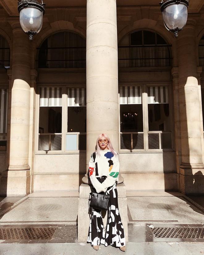Vừa lên kệ, họa tiết mảng màu của H&M Studio đã được chưng diện toàn cầu, cánh fashionista Việt nào có kém cạnh - Ảnh 5.