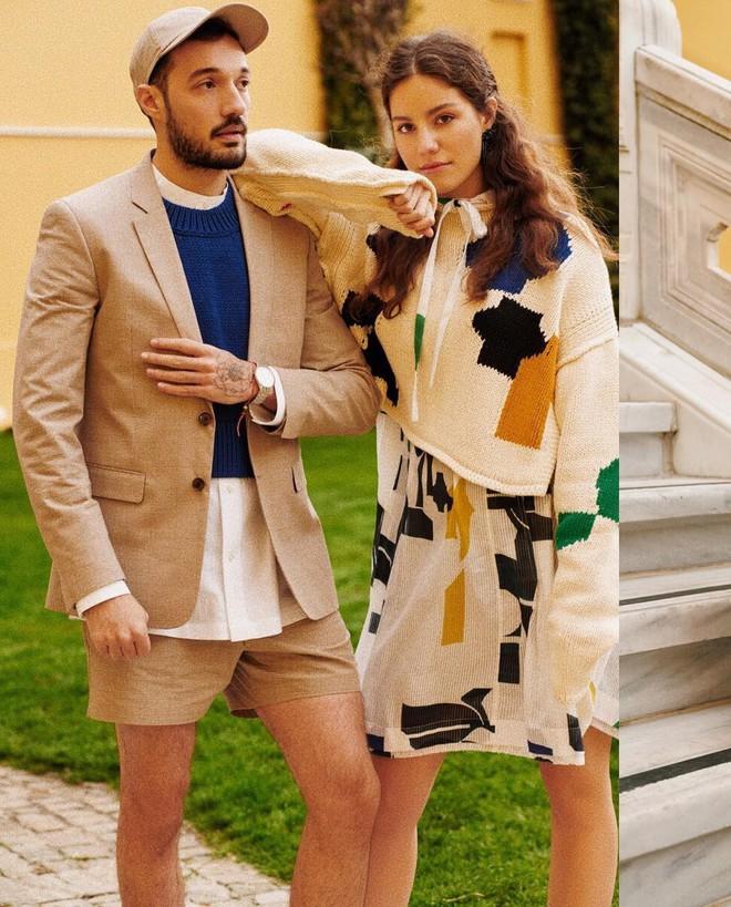 Vừa lên kệ, họa tiết mảng màu của H&M Studio đã được chưng diện toàn cầu, cánh fashionista Việt nào có kém cạnh - Ảnh 9.