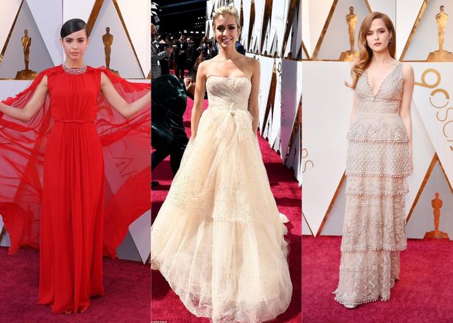Thảm đỏ Oscar 2018: Cuộc chiến sắc đẹp giữa các nữ thần nhan sắc hàng đầu Hollywood - Ảnh 1.