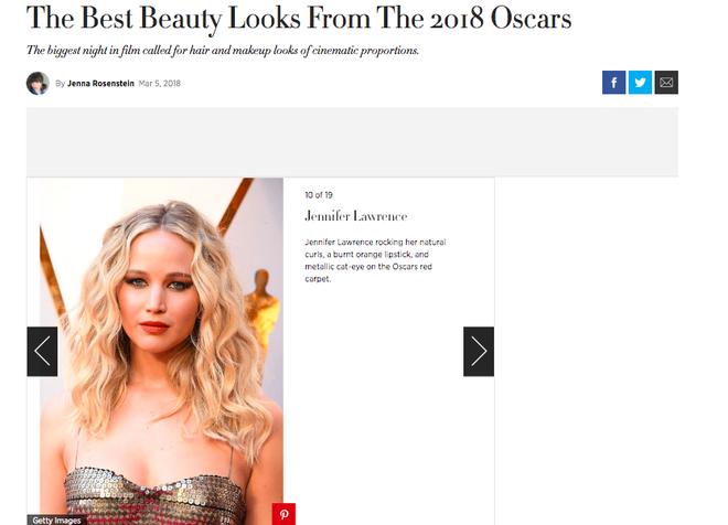 Jennifer Lawrence lọt Top trang điểm đẹp tại Oscar 2018 là nhờ vào chuyên gia trang điểm gốc Việt cả đấy! - Ảnh 4.