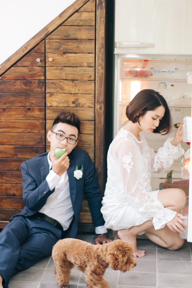 Xu hướng chọn trang phục chụp ảnh cưới 2018: đồ càng đơn giản càng đẹp, quan trọng nhất là ở thần thái - Ảnh 3.