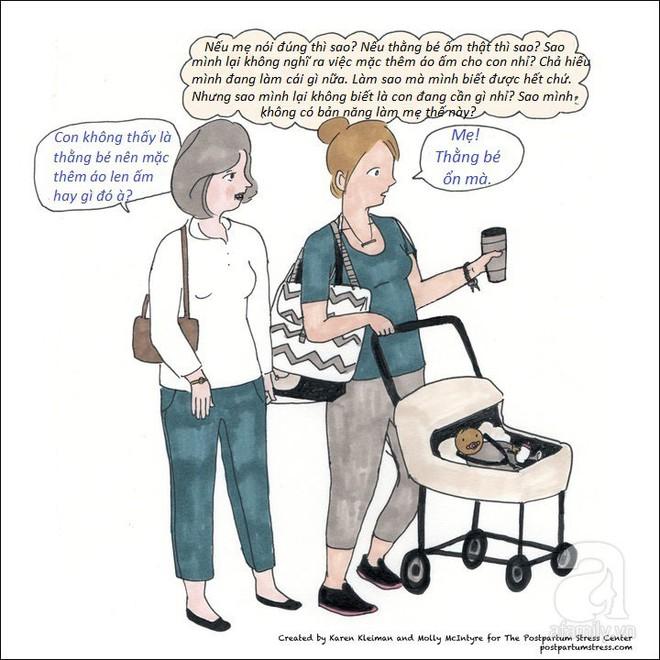 Những hình ảnh cho thấy trầm cảm sau sinh khiến người mẹ có suy nghĩ đáng sợ đến thế nào - Ảnh 7.