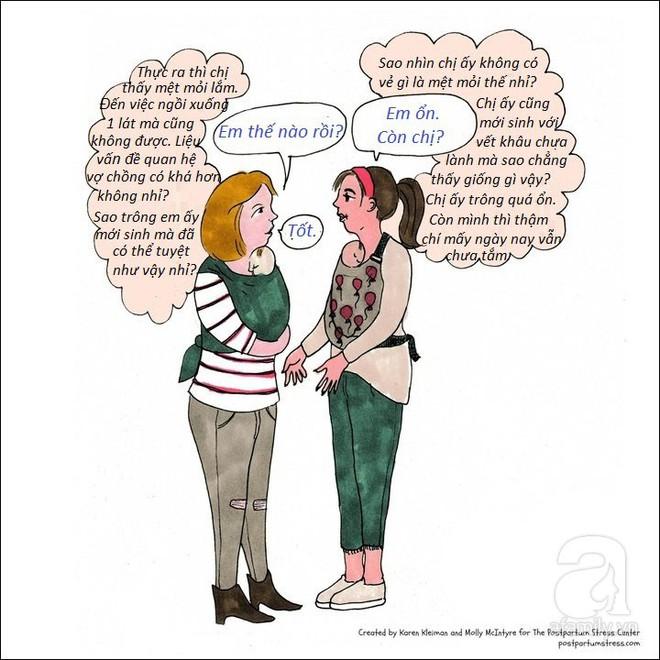 Những hình ảnh cho thấy trầm cảm sau sinh khiến người mẹ có suy nghĩ đáng sợ đến thế nào - Ảnh 8.