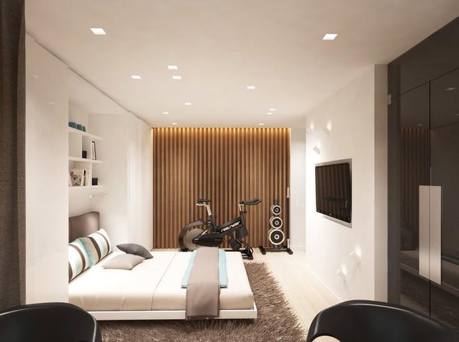 Không gian sống lý tưởng trong hai căn hộ có diện tích chưa đến 20m² - Ảnh 8.