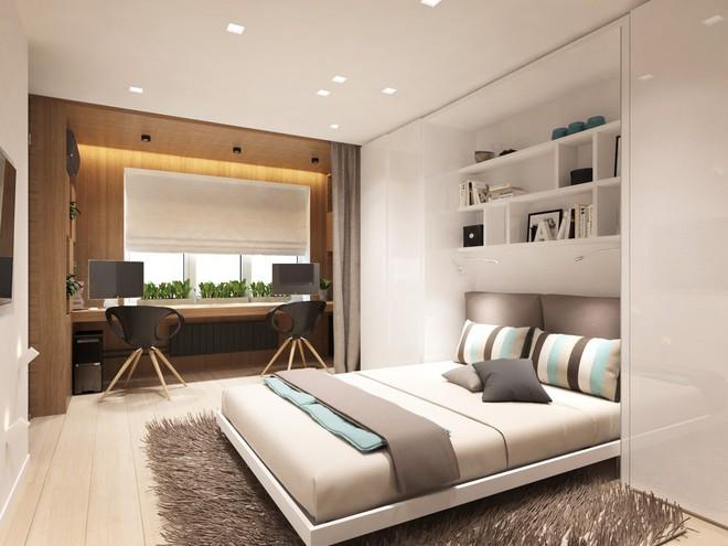 Không gian sống lý tưởng trong hai căn hộ có diện tích chưa đến 20m² - Ảnh 9.