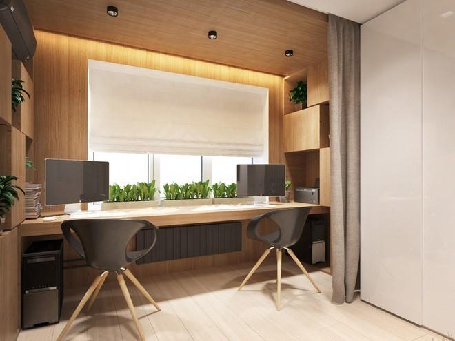 Không gian sống lý tưởng trong hai căn hộ có diện tích chưa đến 20m² - Ảnh 11.