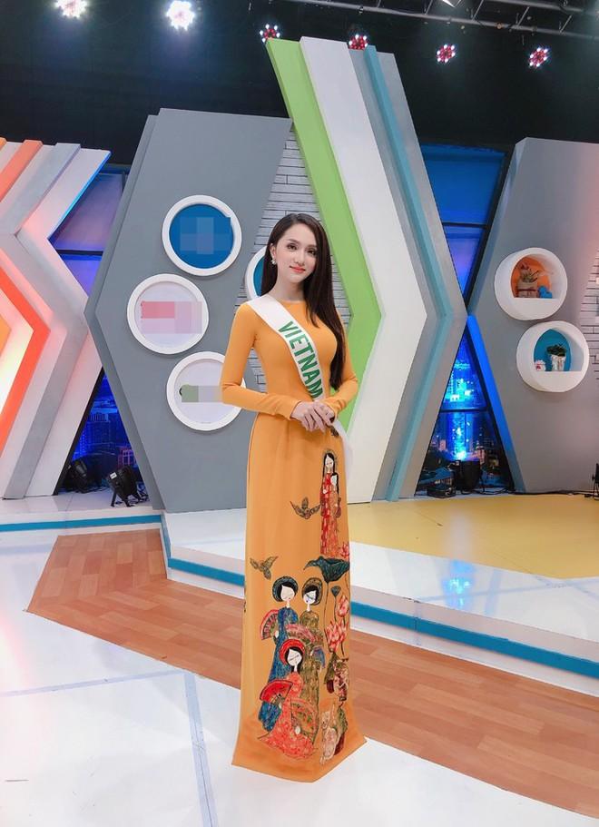 Cùng ngắm lại những thiết kế Việt giúp Hương Giang tỏa sáng tại Hoa hậu chuyển giới quốc tế 2018 - Ảnh 12.