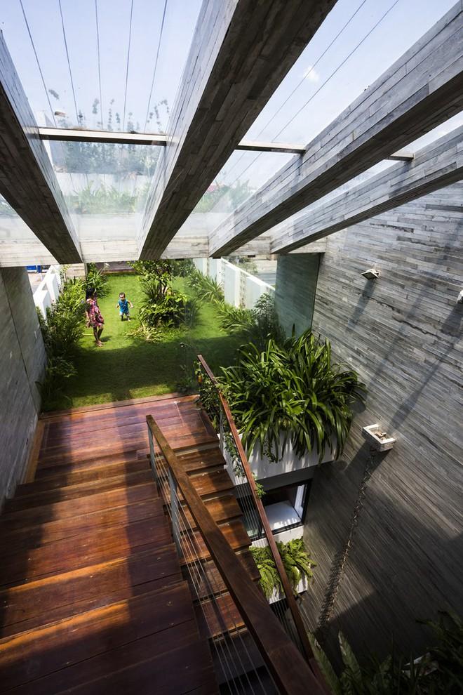 Ngôi nhà sâu 35m với khu vườn trên sân thượng đẹp muốn hờn ở Đà Nẵng - Ảnh 16.