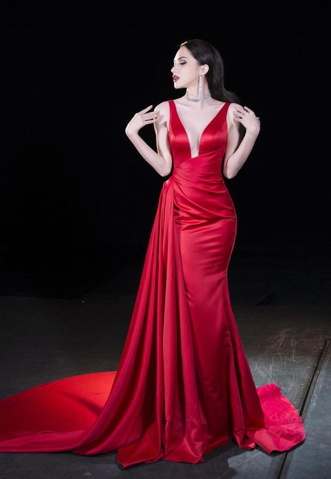 Cùng ngắm lại những thiết kế Việt giúp Hương Giang tỏa sáng tại Hoa hậu chuyển giới quốc tế 2018 - Ảnh 5.