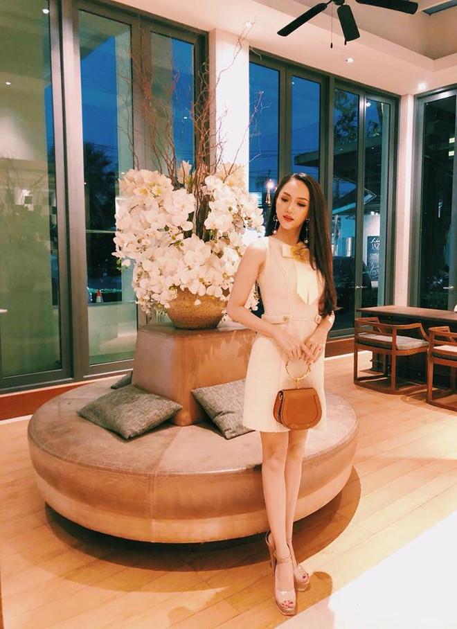 Cùng ngắm lại những thiết kế Việt giúp Hương Giang tỏa sáng tại Hoa hậu chuyển giới quốc tế 2018 - Ảnh 6.