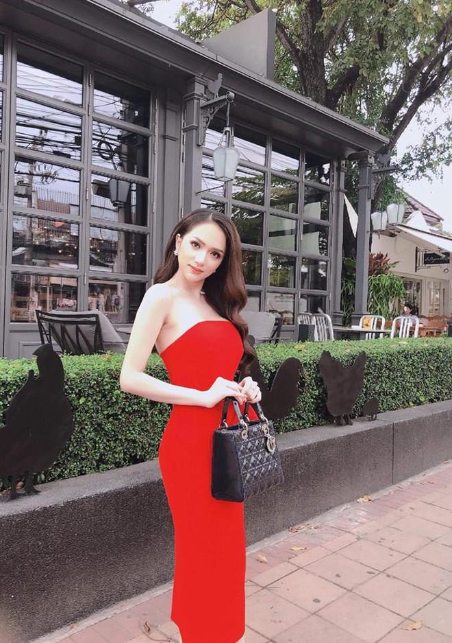 Cùng ngắm lại những thiết kế Việt giúp Hương Giang tỏa sáng tại Hoa hậu chuyển giới quốc tế 2018 - Ảnh 4.