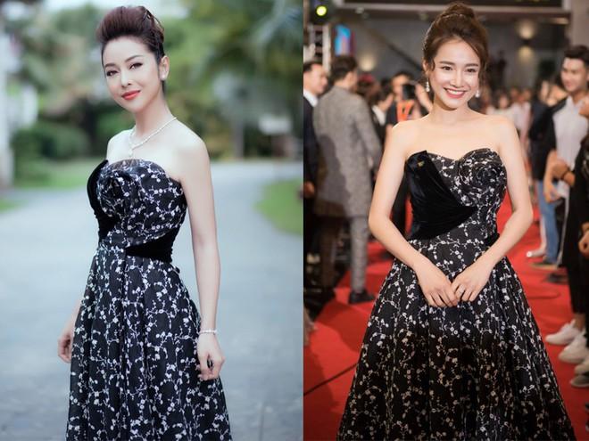 Cùng chọn kiểu tóc búi khi diện váy cúp ngực, Jennifer Phạm sang trọng, trong khi Nhã Phương lại xinh đẹp như một nàng công chúa - Ảnh 7.