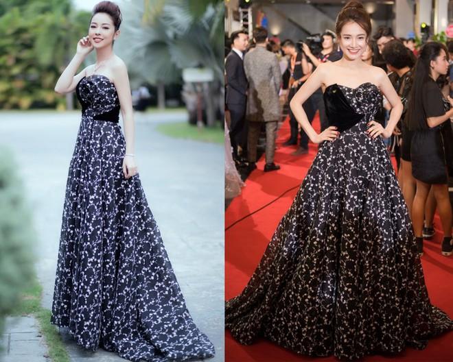 Cùng chọn kiểu tóc búi khi diện váy cúp ngực, Jennifer Phạm sang trọng, trong khi Nhã Phương lại xinh đẹp như một nàng công chúa - Ảnh 8.