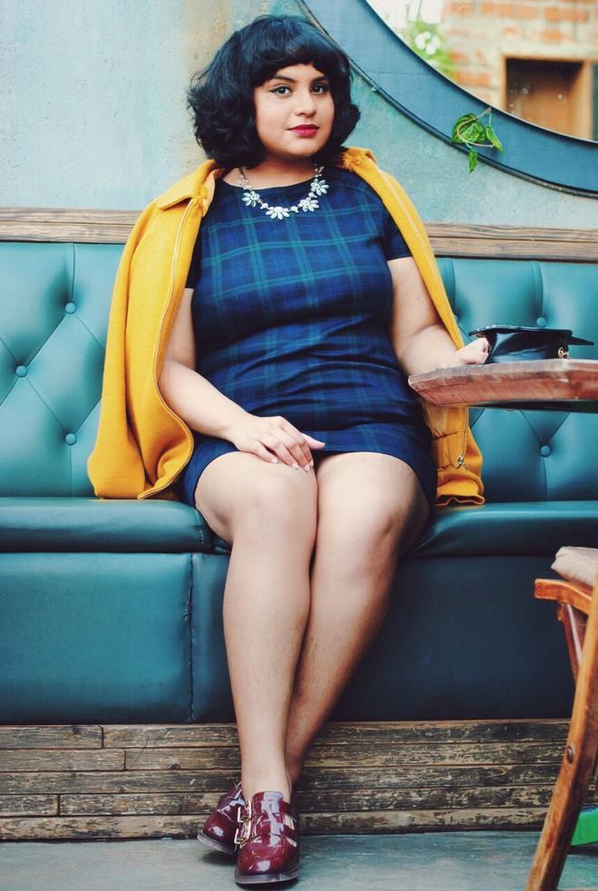 Ai bảo béo không thể mặc đẹp, 4 cô nàng này vẫn cứ tự tin rạng rỡ với gu thời trang chất lừ  - Ảnh 1.