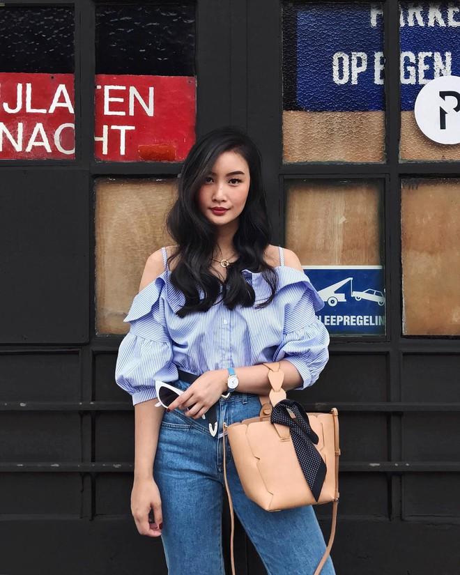 Khởi động mùa du lịch qua loạt street style siêu thú vị của các quý cô châu Á - Ảnh 18.