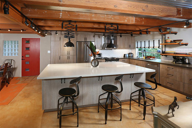 Mãn nhãn với 10 căn bếp tuyệt đẹp mang phong cách công nghiệp - Ảnh 1.
