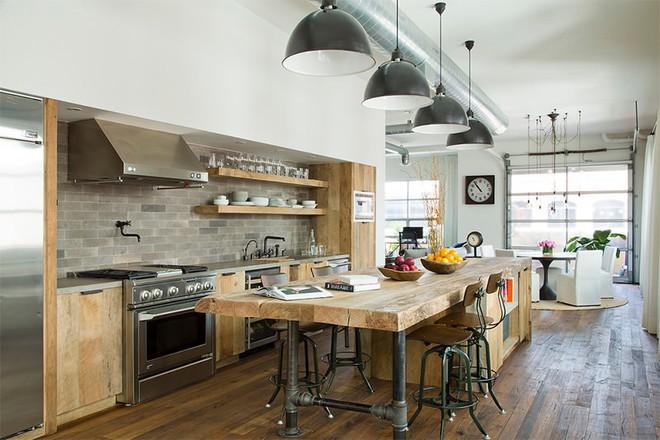 Mãn nhãn với 10 căn bếp tuyệt đẹp mang phong cách công nghiệp - Ảnh 2.