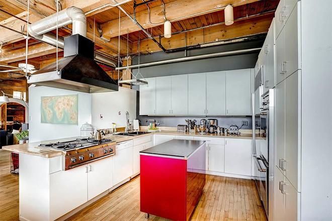 Mãn nhãn với 10 căn bếp tuyệt đẹp mang phong cách công nghiệp - Ảnh 4.