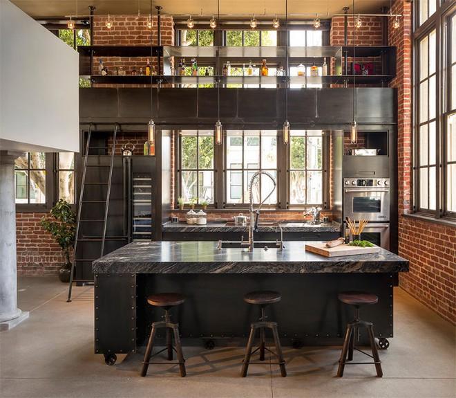 Mãn nhãn với 10 căn bếp tuyệt đẹp mang phong cách công nghiệp - Ảnh 6.