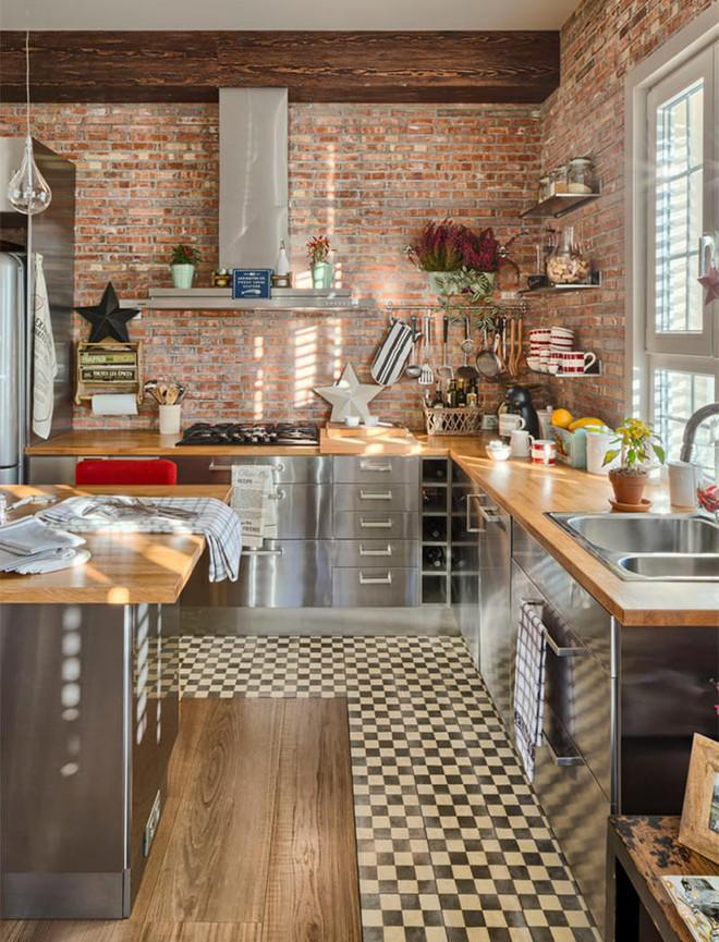 Mãn nhãn với 10 căn bếp tuyệt đẹp mang phong cách công nghiệp - Ảnh 7.