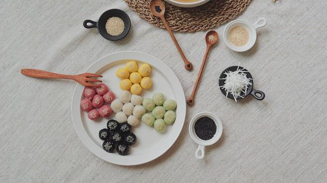 Tết Hàn thực phải học ông bố soái ca Kiên Hoàng làm bánh trôi bánh chay đẹp mê mẩn - Ảnh 13.