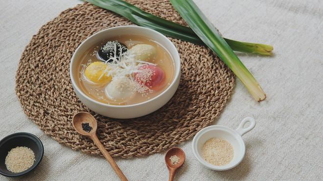 Tết Hàn thực phải học ông bố soái ca Kiên Hoàng làm bánh trôi bánh chay đẹp mê mẩn - Ảnh 14.