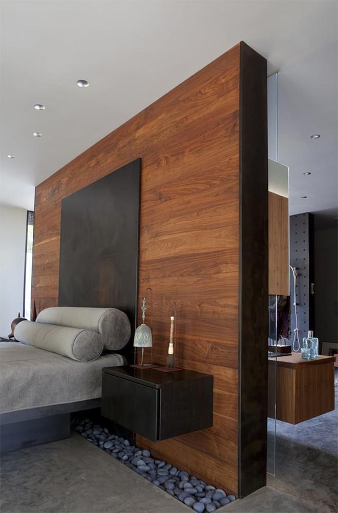 18 kiểu phòng tắm tích hợp phòng ngủ đẹp không khác gì khách sạn - Ảnh 11.