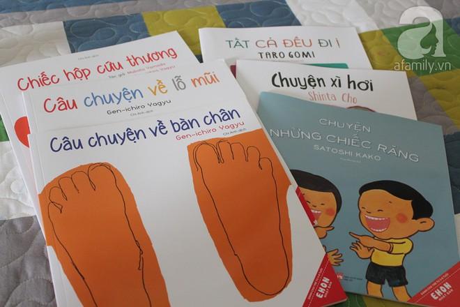 """Những cuốn sách """"gối đầu giường"""" của cha mẹ Nhật khi dạy con về sức khỏe và cơ thể - Ảnh 1."""