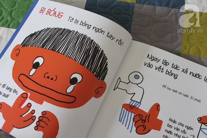 """Những cuốn sách """"gối đầu giường"""" của cha mẹ Nhật khi dạy con về sức khỏe và cơ thể - Ảnh 8."""