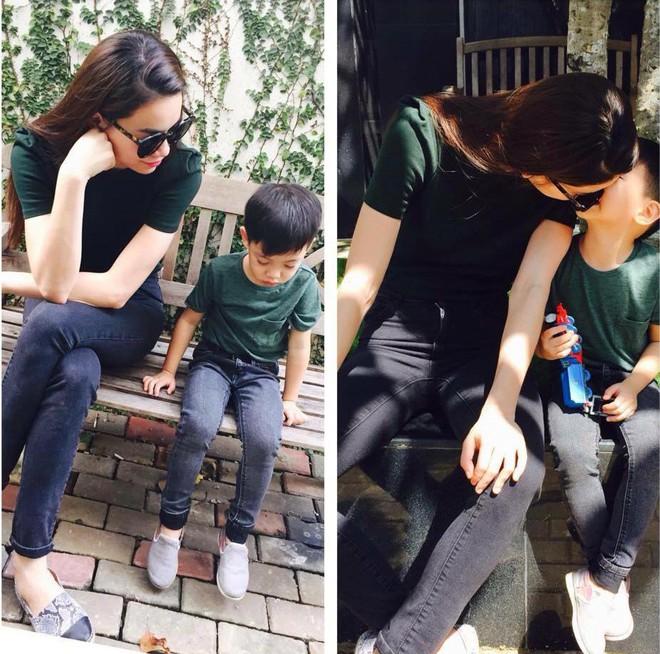 3 cặp mẹ con nhà sao Việt rất chăm mặc đồ đôi đồng điệu cùng nhau - Ảnh 15.