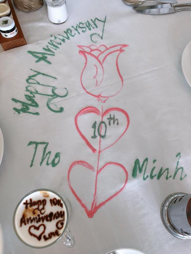 Sau bao ồn ào tình ái, vợ chồng Bình Minh cuối cùng vẫn kịp kỉ niệm 10 năm ngày cưới trong yên bình - Ảnh 2.