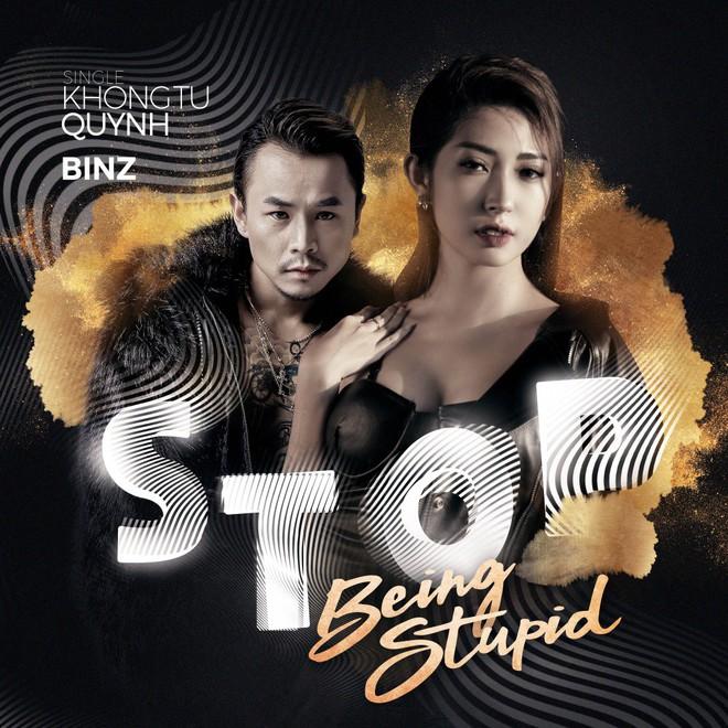 Khổng Tú Quỳnh lột xác gợi cảm lần đầu bắt tay cùng rapper hàng đầu underground - Ảnh 1.