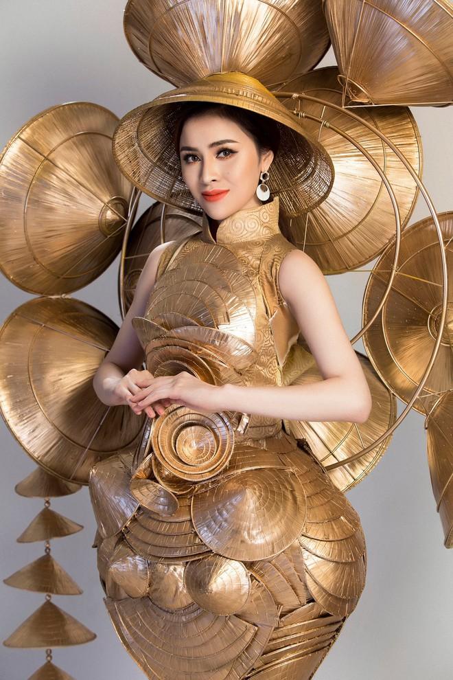 Cận cảnh Trang phục sinh thái Thư Dung đem đi tranh tài tại Miss Eco International 2018 - Ảnh 1.
