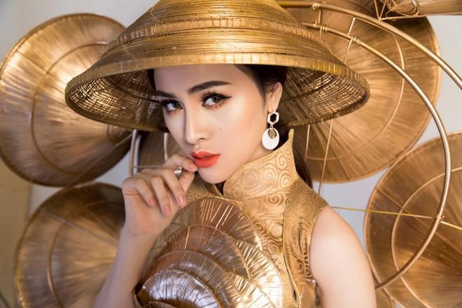Cận cảnh Trang phục sinh thái Thư Dung đem đi tranh tài tại Miss Eco International 2018 - Ảnh 5.