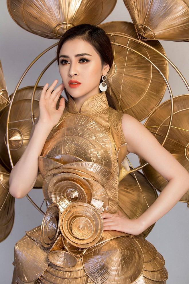 Cận cảnh Trang phục sinh thái Thư Dung đem đi tranh tài tại Miss Eco International 2018 - Ảnh 4.