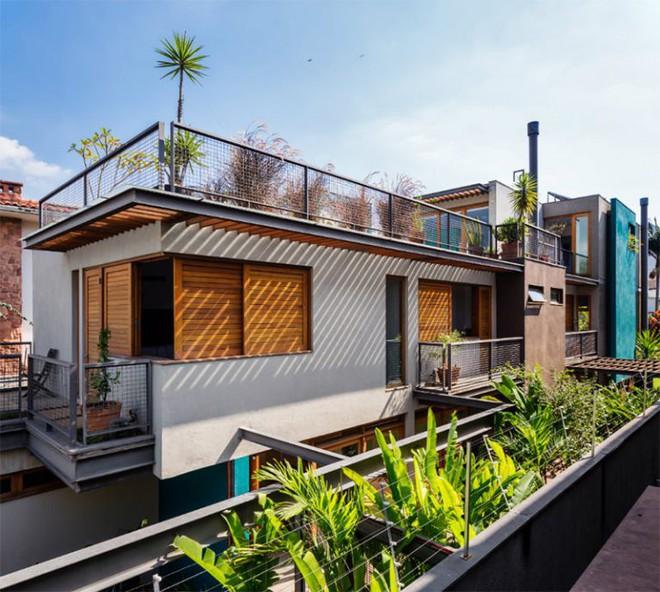 Ngôi nhà nhiều không gian xanh mát này sẽ khiến bạn muốn lịm tim ngay khi nhìn thấy - Ảnh 12.