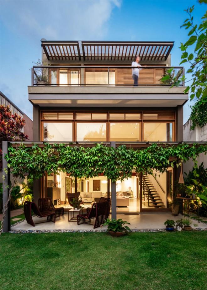Ngôi nhà nhiều không gian xanh mát này sẽ khiến bạn muốn lịm tim ngay khi nhìn thấy - Ảnh 3.