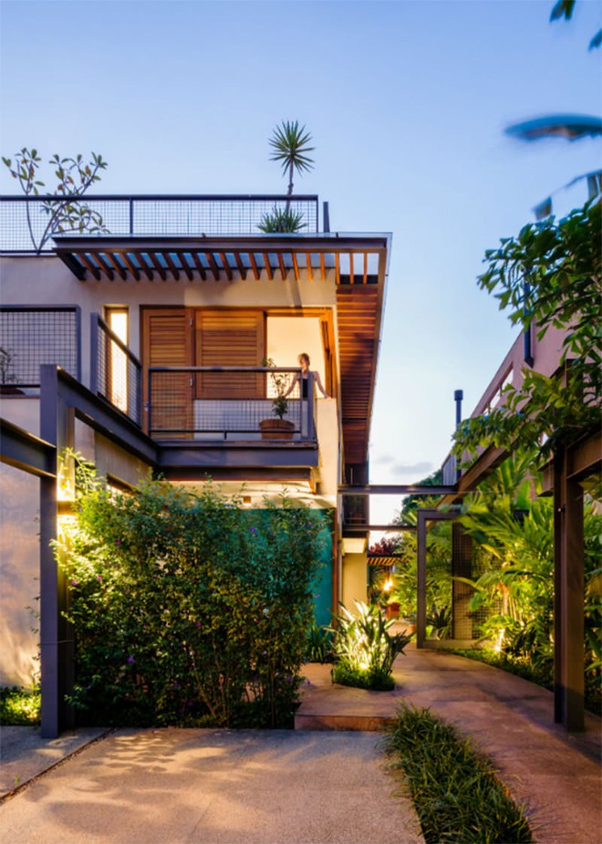 Ngôi nhà nhiều không gian xanh mát này sẽ khiến bạn muốn lịm tim ngay khi nhìn thấy - Ảnh 4.