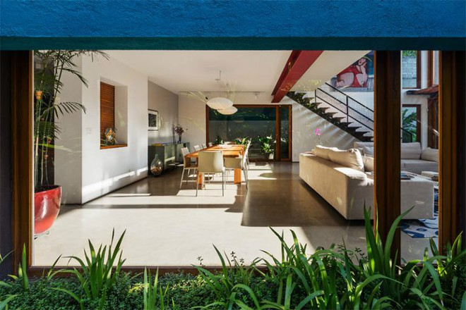 Ngôi nhà nhiều không gian xanh mát này sẽ khiến bạn muốn lịm tim ngay khi nhìn thấy - Ảnh 6.