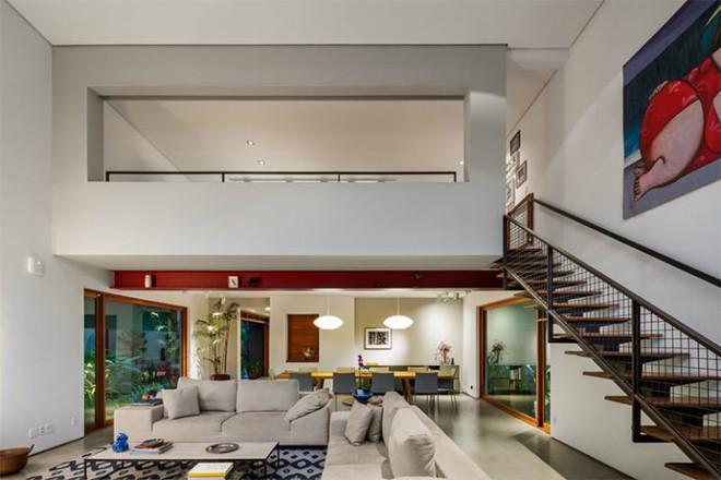 Ngôi nhà nhiều không gian xanh mát này sẽ khiến bạn muốn lịm tim ngay khi nhìn thấy - Ảnh 7.