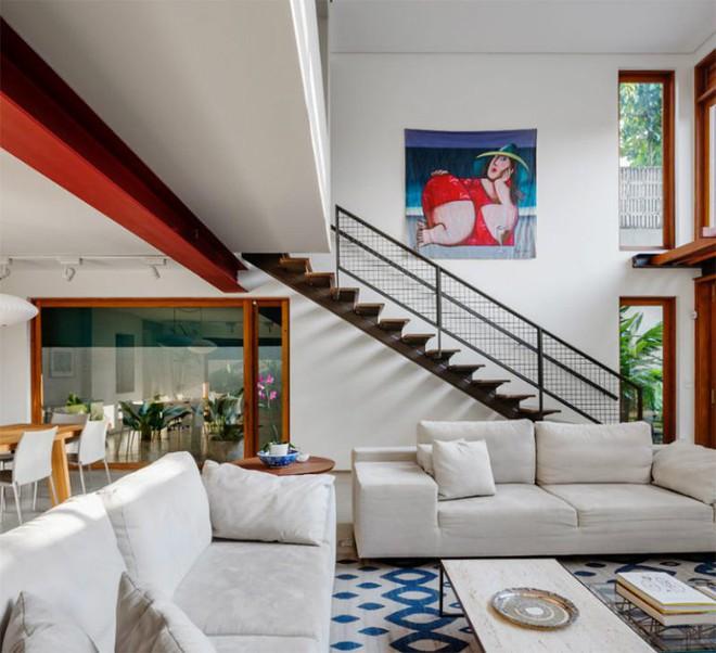 Ngôi nhà nhiều không gian xanh mát này sẽ khiến bạn muốn lịm tim ngay khi nhìn thấy - Ảnh 8.