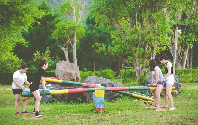 4 resort có khu vui chơi cho trẻ nhỏ chỉ cách trung tâm Hà Nội khoảng 1 giờ đi xe - ảnh 35