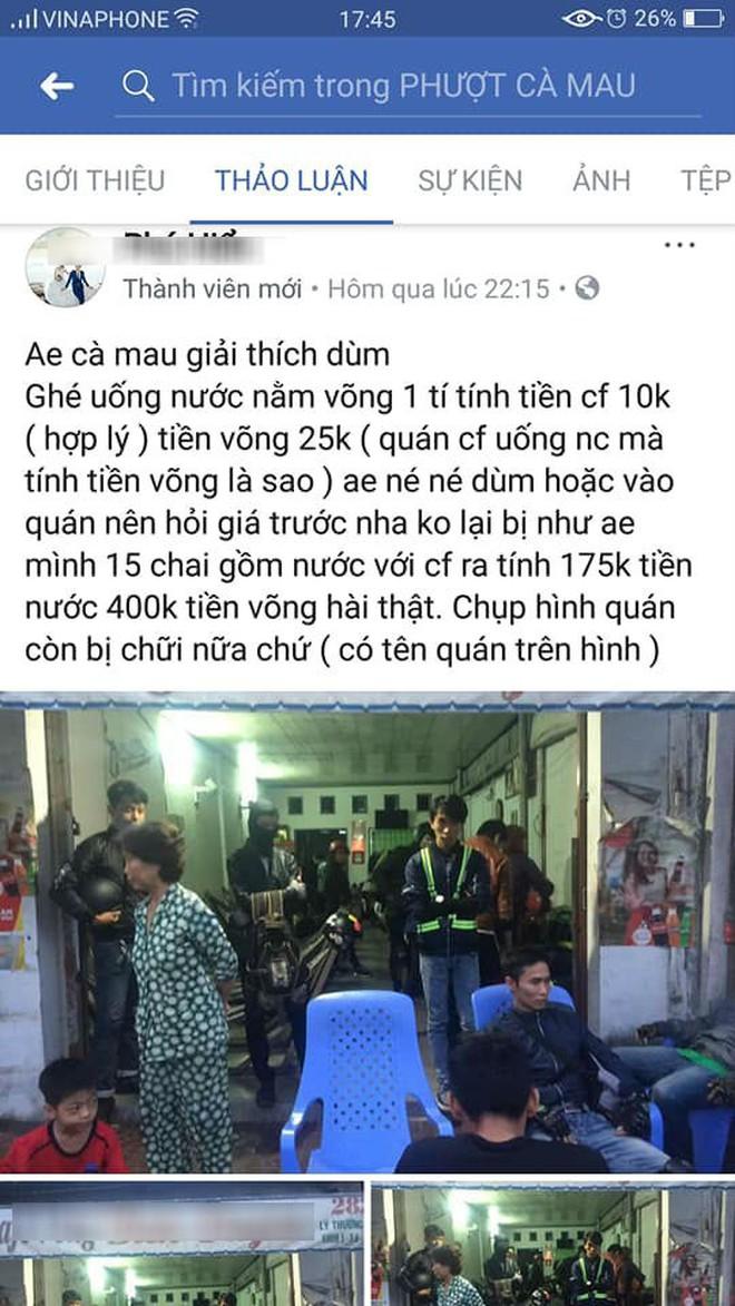Đoàn phượt thủ 28 người nghỉ qua đêm ở cafe võng tại Cà Mau hết 400k, sau đó lên mạng bóc phốt bị dân mạng ném đá gay gắt - ảnh 2