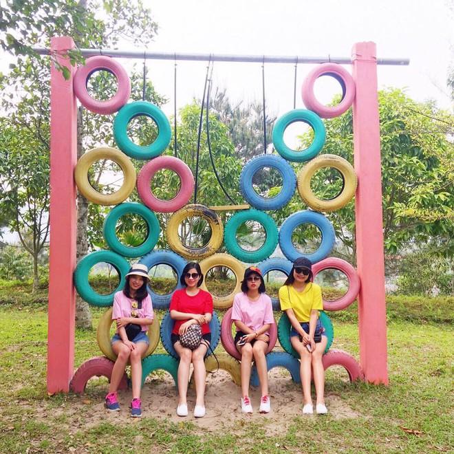 4 resort có khu vui chơi cho trẻ nhỏ chỉ cách trung tâm Hà Nội khoảng 1 giờ đi xe - ảnh 34