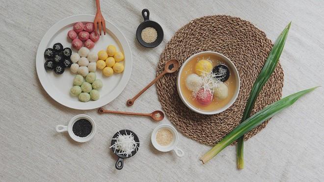 Tết Hàn thực rực rỡ của hội chị em, nhà nhà đua nhau khoe bánh trôi bánh chay ngũ sắc - ảnh 13