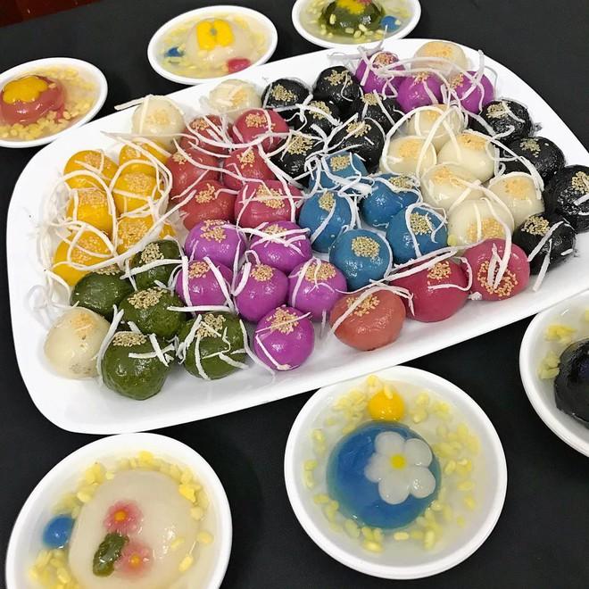 Tết Hàn thực năm nay, chị em đua nhau khoe bánh trôi bánh chay ngũ sắc đẹp mắt thơm ngon - Ảnh 2.